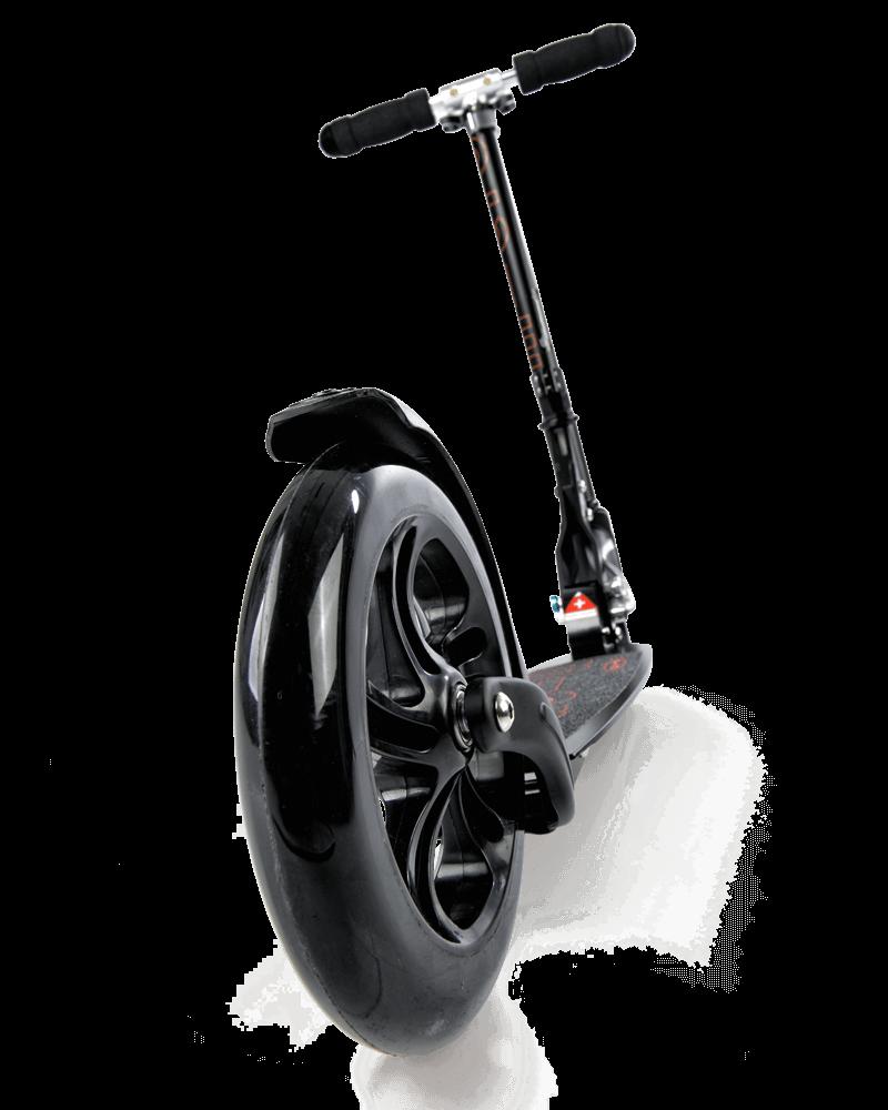 micro scooter black micro. Black Bedroom Furniture Sets. Home Design Ideas