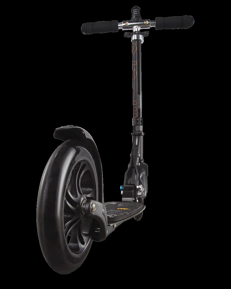 micro scooter black deluxe micro. Black Bedroom Furniture Sets. Home Design Ideas
