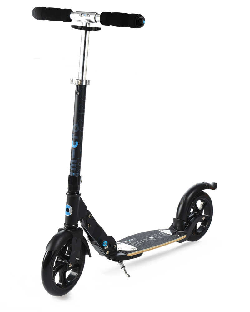 micro scooter flex black matt 200mm micro. Black Bedroom Furniture Sets. Home Design Ideas