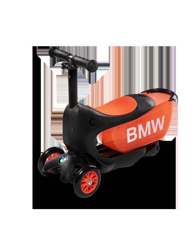 Bmw Kids Scooter Black Orange Micro Mobility Com